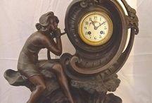 Art nouveau clock,s