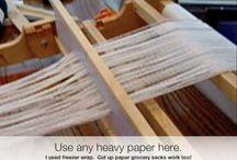 Weaving tutorials