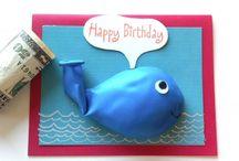 Geburtstagskarte Fisch