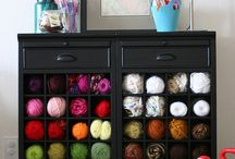 craft room ideas / by Amy Scalia
