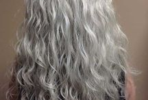 Curly hair styles older women