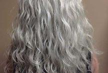 Curly hair styles older women