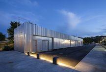 Metall facade