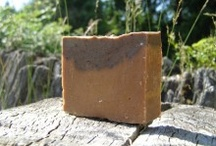 Giggle Goat Soap / We began making our goat milk soaps as a hobby and to relieve stress. Then we started to learn the countless healing benefits of 'true soap', especially when made with goat's milk. The centuries old recipes benefit both skin and hair in a remarkable way.  With its high fat and protein content, vitamins A, D, E & K, minerals and alpha-hydroxy acids, goat's milk makes our soaps highly moisturizing and healing. Not to mention it's just plain fun. Make sure you check out our website!