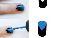 Nails / Lovely nail art  / by Kelly Kerr