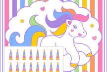 Unicorn Party Ideas / Great ideas for party cakes, decorations, printables,  food and more!