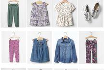 Capsule Wardrobe for Children / Wardrobe idea for my kiddos.