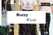 """Word Up! / """"I've always thought of the T-shirt as the Alpha and Omega of the fashion alphabet.""""  -Giorgio Armani"""