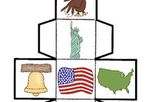 Patriotic Symbols & America / Lessons and activities for themes on patriotic symbols, American symbols, America, and USA for prek, kindergarten, first grade, and second grade classrooms.