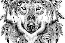 mandalas animales