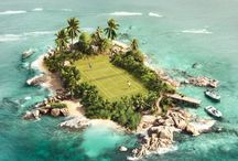 Cool Tennis Venues / tennis courts around the world