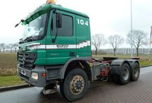 Mercedes Trucks / by Kleyn Trucks