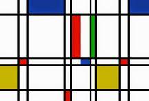Pinturas de Piet Mondrian | Criador do Neoplasticismo