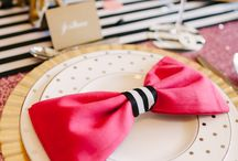 Preppy wedding theme