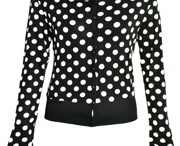 Polkadot Adult Clothes / Lots of lovely polka dot clothes for you to feast your eyes on. :o)