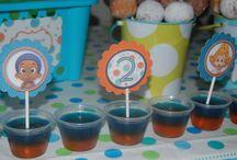 Bubble Guppy Party idea