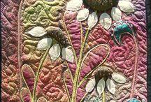 Immi's textiles: nature quilts