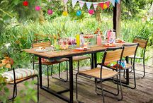 Outdoor furniture shoot inspiration