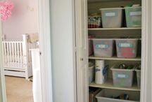linen closet.