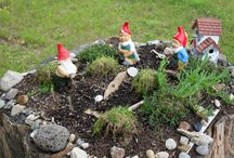 My Style / Gnome garden / by Charlie Graves