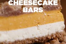 pumkin  cheese cake bars