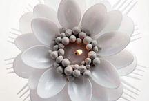flores cucharas