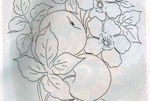 disegni fiori e frutta
