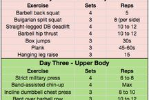 All about them weights...no treadmill / by Melanie Love
