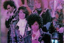 "* * * ""Prince 1984-1985 Purple Rain"" * * * / Prince 1984-1985 and Proteges - Purple Rain Era / by Tiffany Davis"