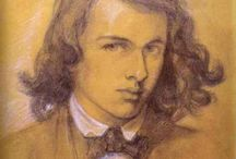 Self-Portrait Dante Gabriel Rossetti, 1847