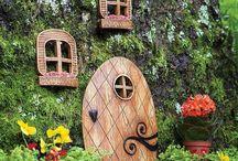 Isabella's fairy garden