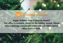 Voicemail greeting samples voicemailgreet on pinterest holiday voicemail greeting sample httpvoicemailgreetingholiday m4hsunfo