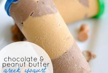Frozen treats / Ice cream, fro yo, Popsicles