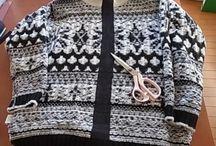 リメイク ニットセーター