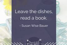 """Bookish Quotes / """"It is what you read when you don't have to that determines what you will be when you can't help it.""""  - Oscar Wilde"""