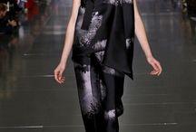 inspiration - mary katranzhou black and white