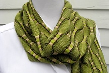 Handwoven scarves / by Vladka Cepakova