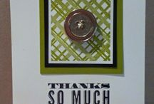 SU Cards - Thanks / Thank you cards made with Stampin Up products / by FunintheSon