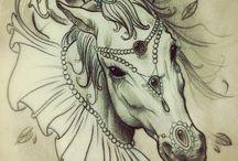 Tatuaggi di cavalli