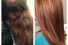Fab hair color / by Amy Hoffman Fratto