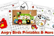 Angry Birds / by Aubrey Robertson