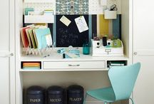 Home offices and craft spaces / by Agnes Monnot