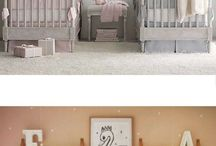 TWIN NURSERY INSPIRATION / Twins are twice the fun, but also take up twice the space!!!!   Here are some ideas and inspiration for your twin nursery.