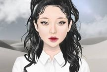Stardoll - hair designs created by Kikinka4.12 / Stardoll, hair designs