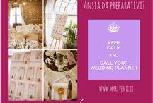 Wedding planner / Why a wedding planner?