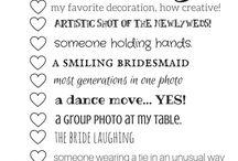 Bryllup aktiviteter