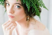 Greenery, fern, moss wedding decor ideas