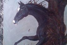 Moje - szkice i obrazy
