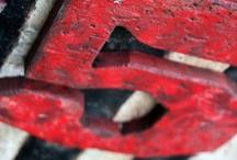 C: Red White & Black