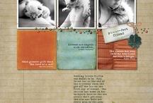 Scrapbook Ideas / by Mona Ha